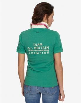 8edf18ddf45868 Joules Mary King Polo Shirt Damen Apple Grün - Shop für ...