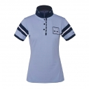 Kingsland Marbella Damen Poloshirt Funktionsshirt Blue Kentucky